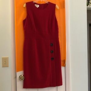 Talbots Red Women's Dress Size 12 Stretch